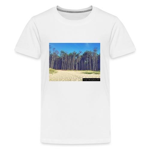 Plage de la Lagune - T-shirt Premium Ado