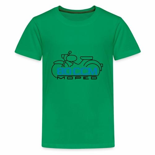 Moped sparrow 80 cc emblem - Teenage Premium T-Shirt