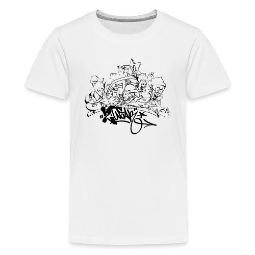 Hip Hop Jam - Teenager premium T-shirt