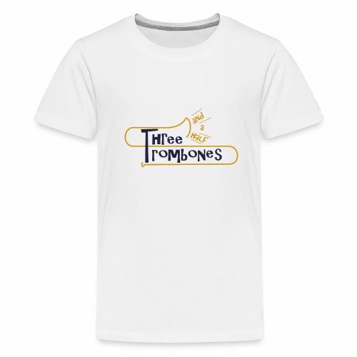 312 Trombones Logo Striche - Teenager Premium T-Shirt