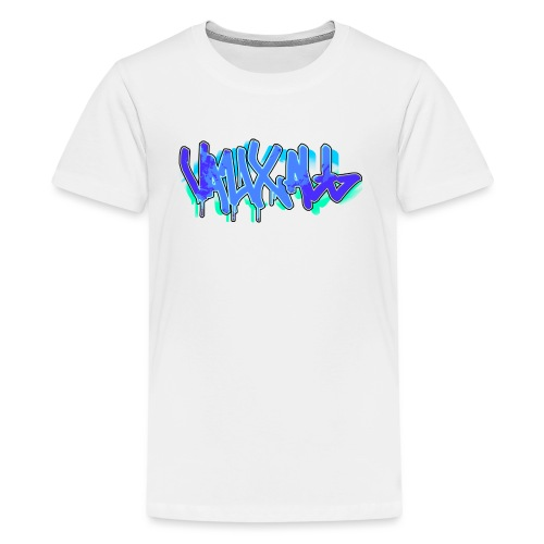 Graffiti | BLUE - Teenage Premium T-Shirt
