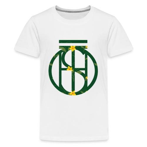 Flowerkleinhokkie gif - Teenager Premium T-shirt
