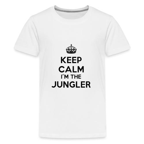 Keep calm I'm the Jungler - T-shirt Premium Ado