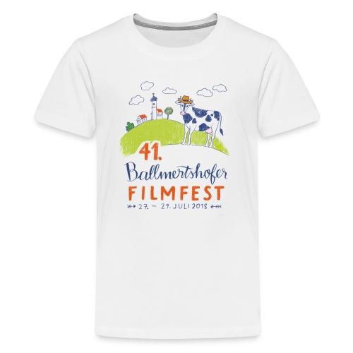 41. Filmfest hell - Teenager Premium T-Shirt