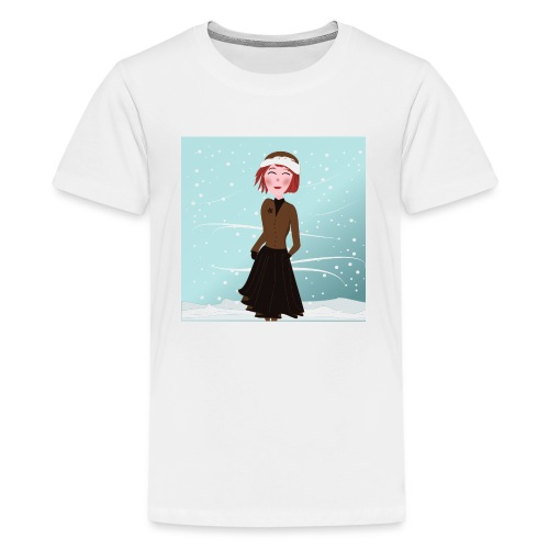 Dreamgirl Katie winter - T-shirt Premium Ado