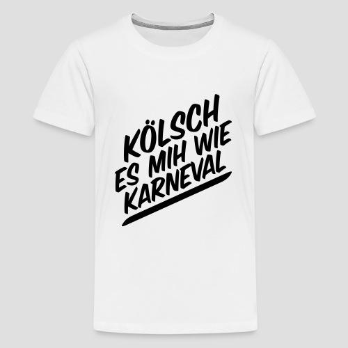 daeHoot Karneval - Teenager Premium T-Shirt