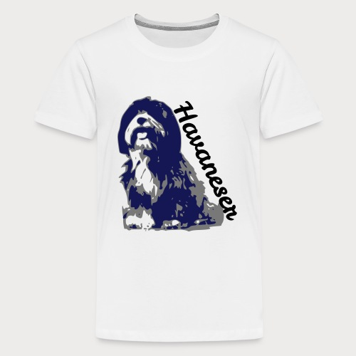 havaneser - Teenager Premium T-Shirt