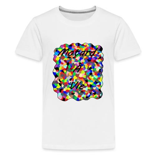 Motard à Vie - T-shirt Premium Ado