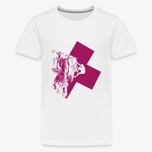 Climbing away - Teenage Premium T-Shirt