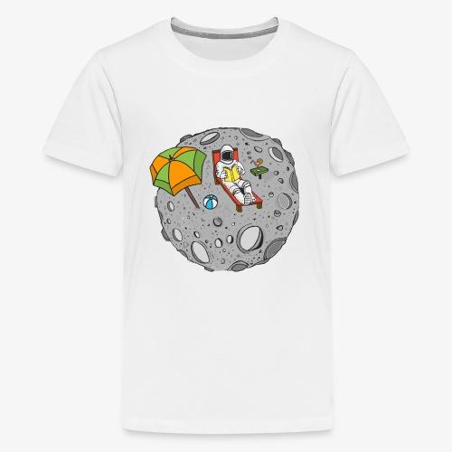 To the Moon - T-shirt Premium Ado