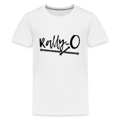 Rally Obedience Rally-O - Geschenkidee Hundesport - Teenager Premium T-Shirt