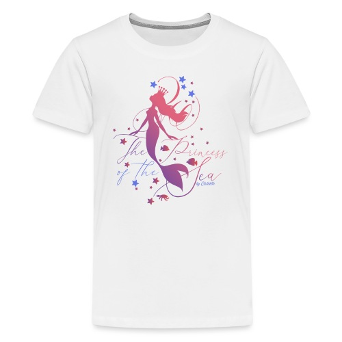 Meerjungfrau by Clarielle - Teenager Premium T-Shirt