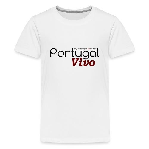 Portugal Vivo - T-shirt Premium Ado