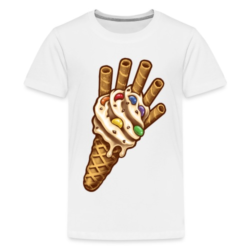 Infinity Ice Cream - Teenage Premium T-Shirt