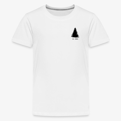 Bah Humbug Small Black - Teenage Premium T-Shirt