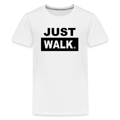 JUST WALK KIDS & TEENS zw - Teenager Premium T-shirt