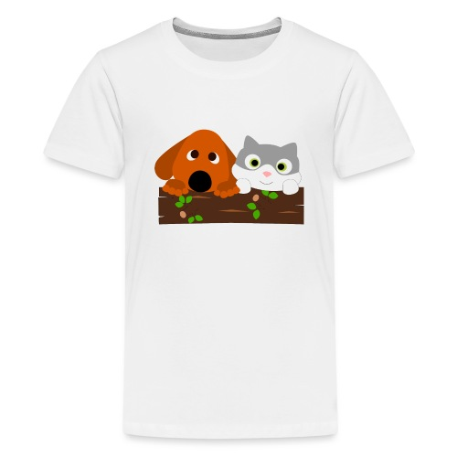 Hund & Katz - Teenager Premium T-Shirt
