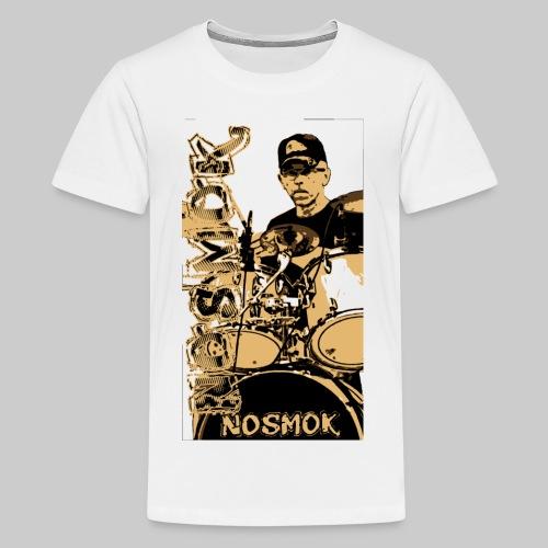 NoSMoK - Jean - Light - T-shirt Premium Ado
