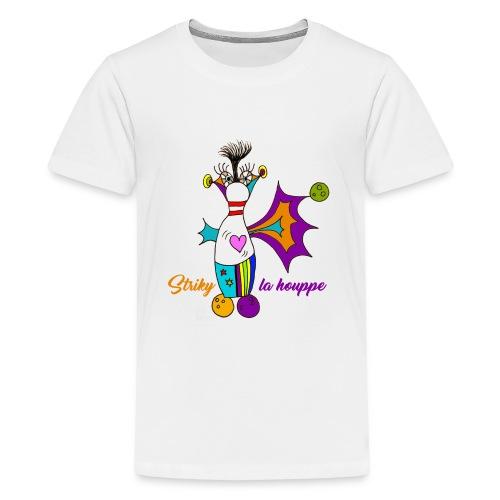 Striky la houppe - T-shirt Premium Ado