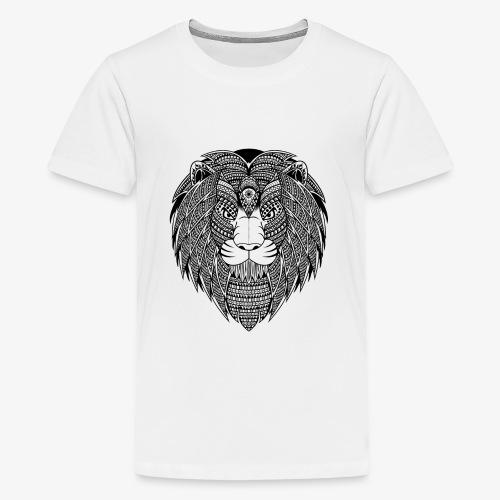 Lion - Teenage Premium T-Shirt