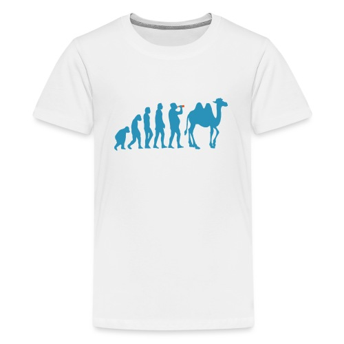 evolution_chameau2 - T-shirt Premium Ado
