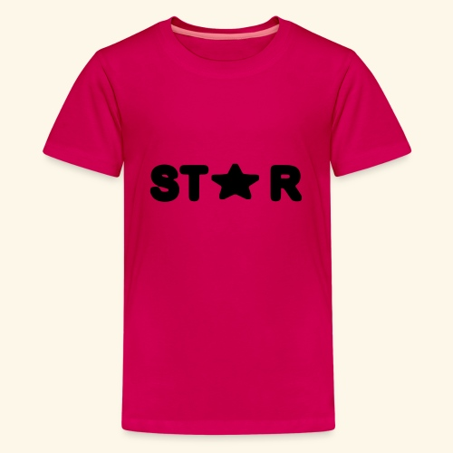 Star of Stars - Teenage Premium T-Shirt