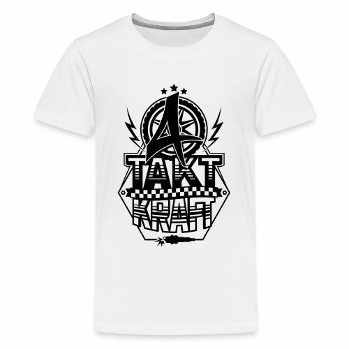 4-Takt-Kraft / Viertaktkraft - Teenage Premium T-Shirt