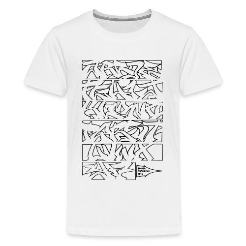 ALPHABET SOMER - T-shirt Premium Ado