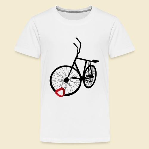 Radball | Black - Teenager Premium T-Shirt