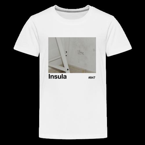 Insula #847 - Camiseta premium adolescente