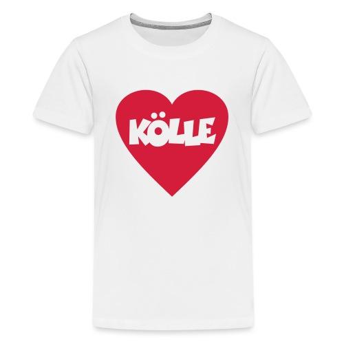 I Love Kölle - Ein Herz für Köln - Teenager Premium T-Shirt