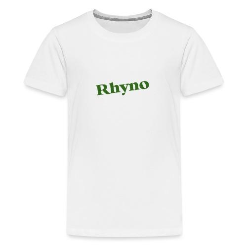 PicCollage rhyno jpg - Teenager Premium T-Shirt