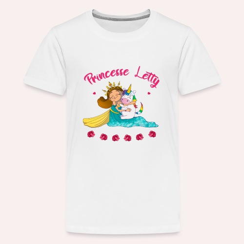 Princesse Letty - T-shirt Premium Ado