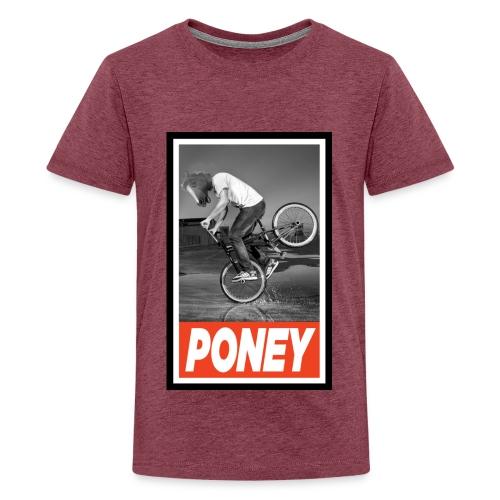 PONEY BMX jpg - T-shirt Premium Ado