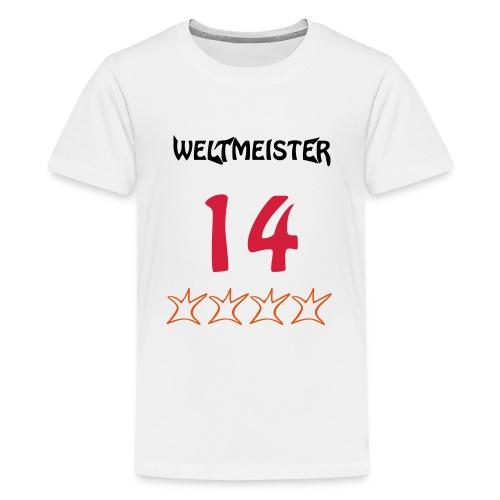 Weltmeister 2014 - Teenager Premium T-Shirt