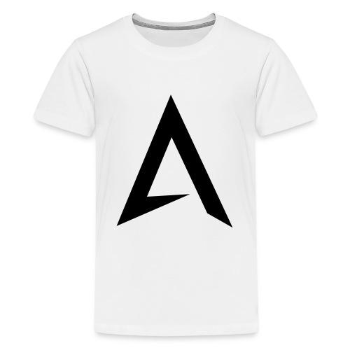 alpharock A logo - Teenage Premium T-Shirt