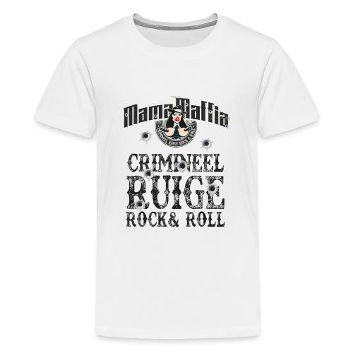 Crimineel Ruige Rock & & Roll Shirt - Teenager Premium T-shirt