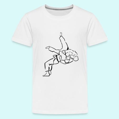 judo - T-shirt Premium Ado