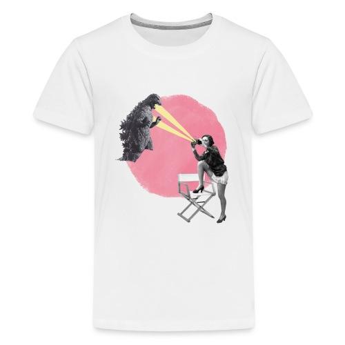cine vintage - Camiseta premium adolescente