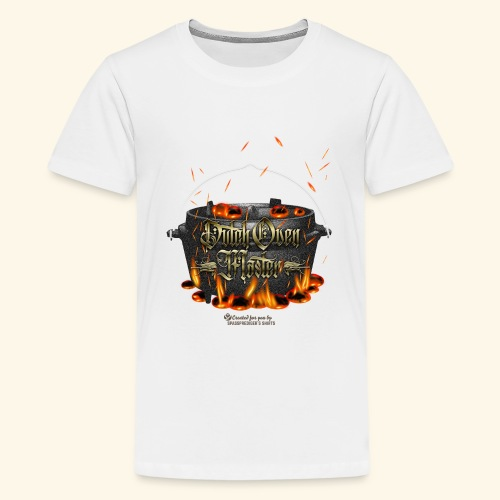 Dutch Oven Master - Teenager Premium T-Shirt