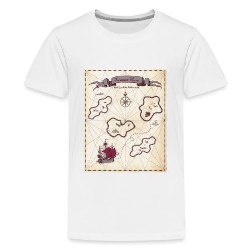 treasure Map - Teenage Premium T-Shirt