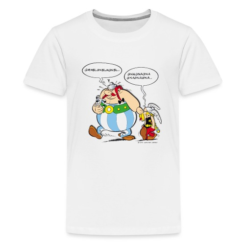Asterix & Obelix boudeur - T-shirt Premium Ado