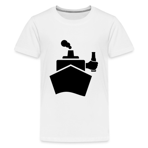 King of the boat - Teenager Premium T-Shirt