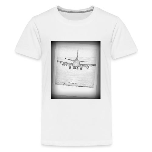747 - Camiseta premium adolescente