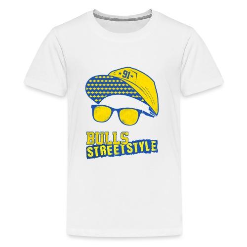 Bulls Streetstyle Yellow - Teenager Premium T-Shirt