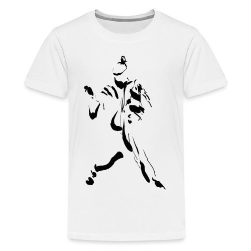 kung-fu ink - Teenage Premium T-Shirt
