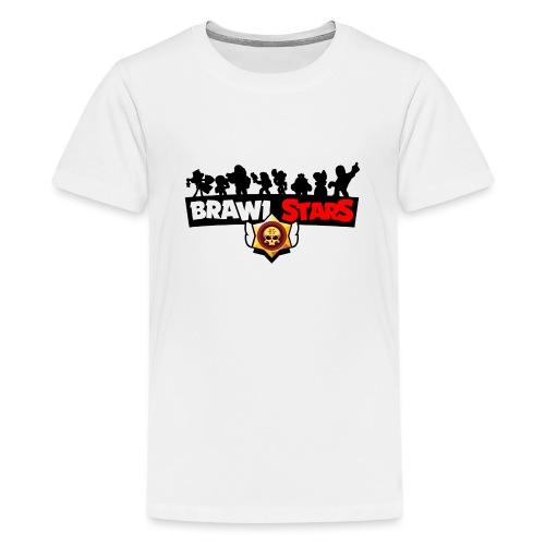 BRAWL STARS - Camiseta premium adolescente
