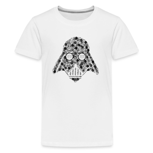 Darth Floral - Teenage Premium T-Shirt