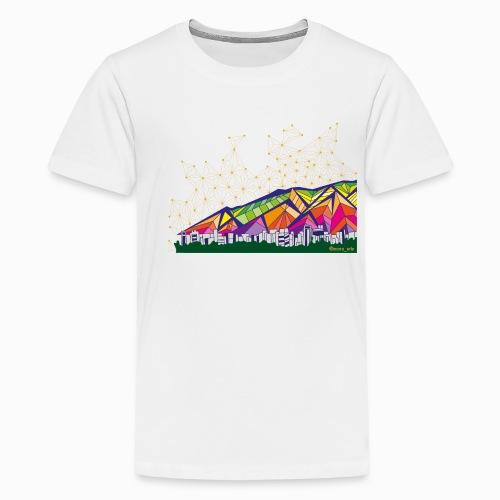 Ávila de Colores - Camiseta premium adolescente