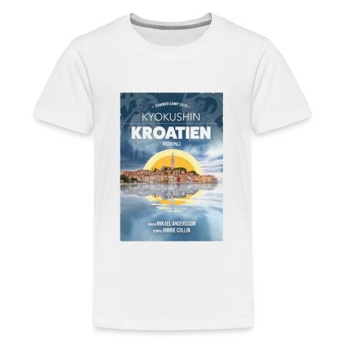 Kyokushin Karate Rovinj 2019 - Premium-T-shirt tonåring